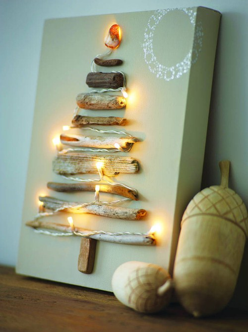 Homemade wood christmas decoration ideas : Simple diy christmas decorations canvas printers