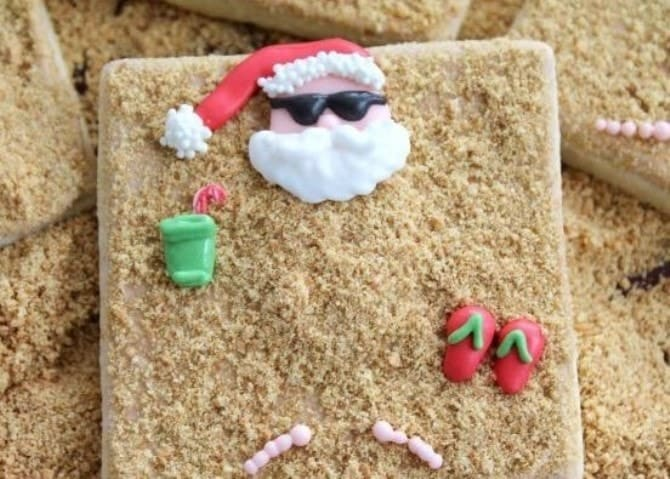 33 easy christmas crafts canvas printers online for Santa glasses for crafts