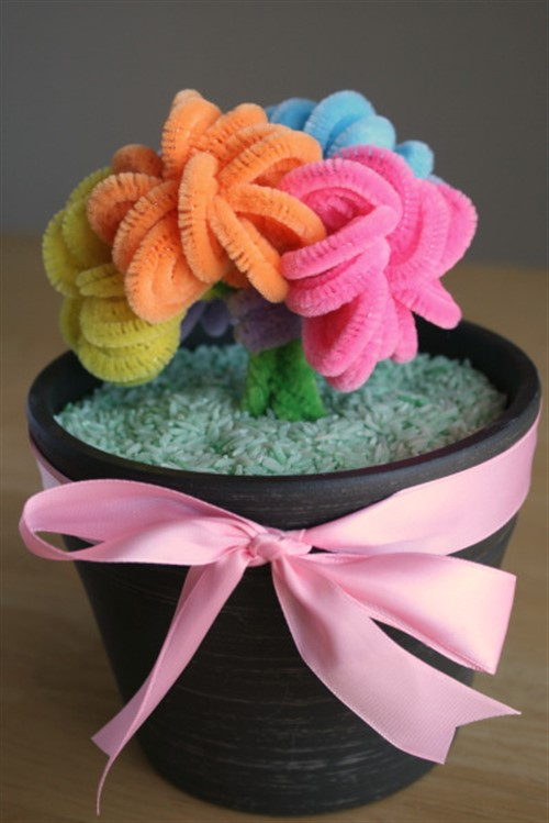 Mothers Day Crafts For Kids - Crafty Bouquet