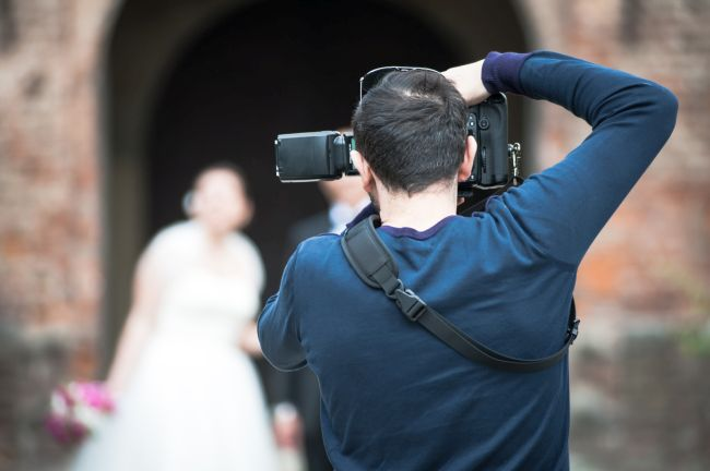 When it's time to choose a wedding photographer, use referrals from friends.