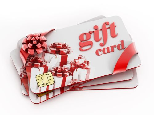 Gift cards can be an ideal gift for the DIY interior designer.