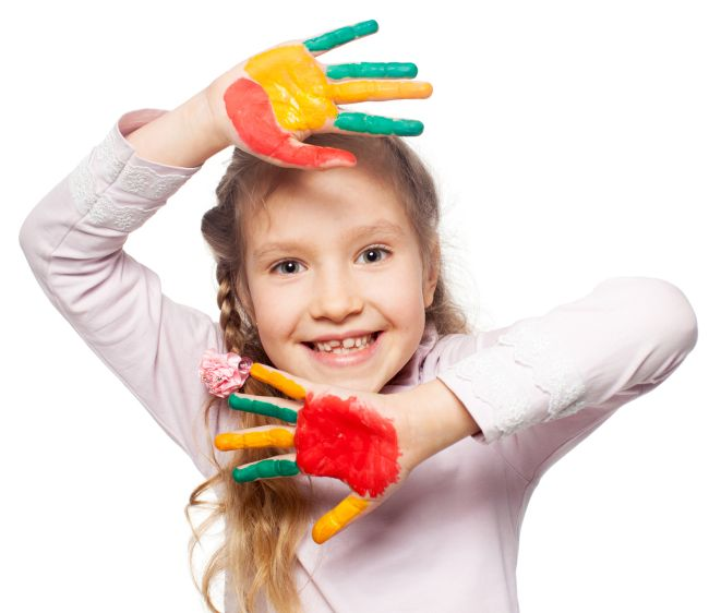 How do you encourage your creative child?