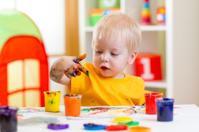 If you've got a creative child, given them space to create.