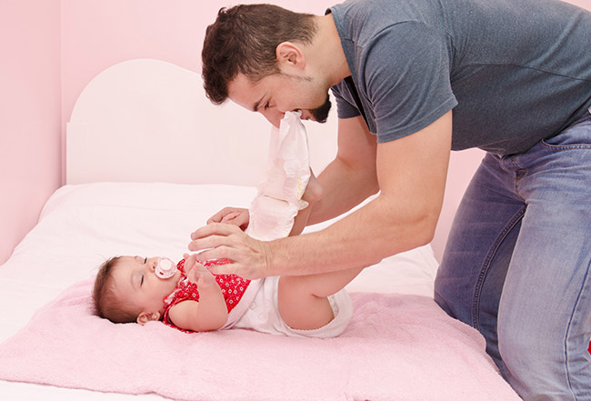 What the Pooping Baby Teaches Us about Babies on Photo Canvas