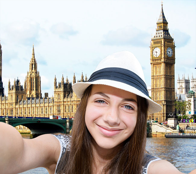 Photo Printing - Young Woman Taking A Selfie
