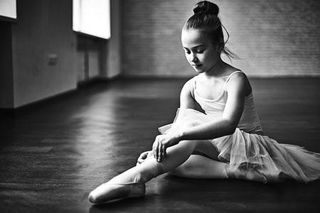Photo Collage - Child Star - Ballerina
