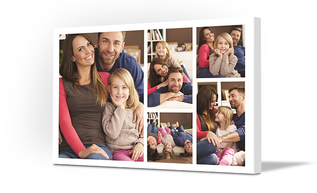 Photo Collage Maker Online - Traditional Collage - Family Print