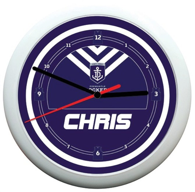 Personalised Father Day Gift - Afl Clock