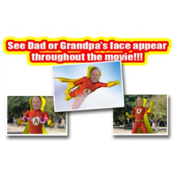 Personalised Father Day Gift - Dvd