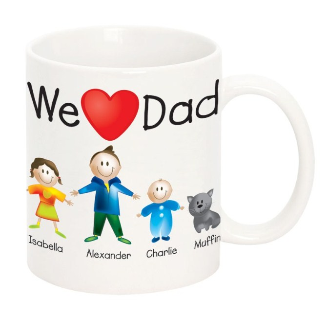 Personalised Father Day Gift - Mug
