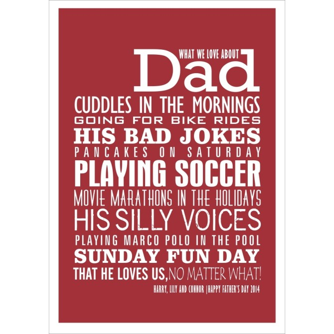 13 Of The Best Personalised Fathers Day Gifts