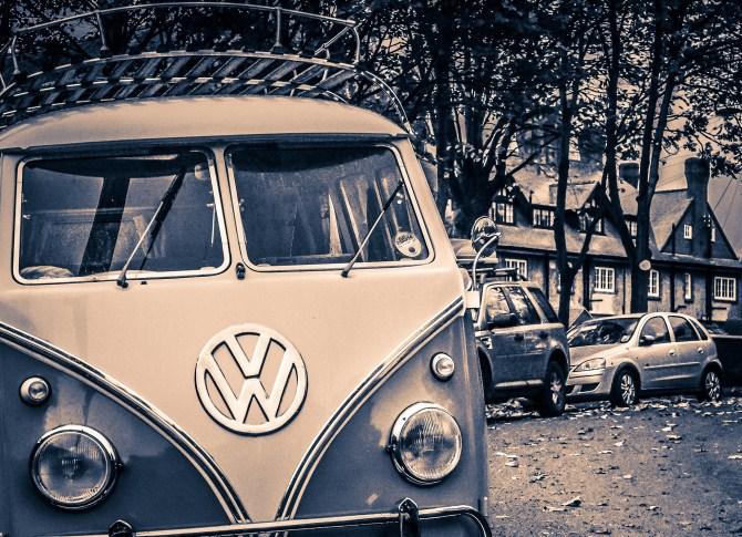 Urban Photography - Camper Van