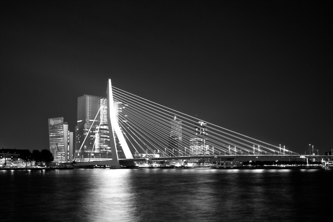 Urban Photography - Erasmus Bridge