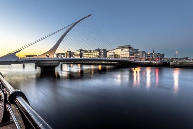 Urban Photography - Samuel Beckett Bridge