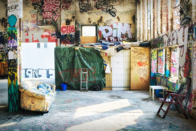 Urban Photography - Squatted Building