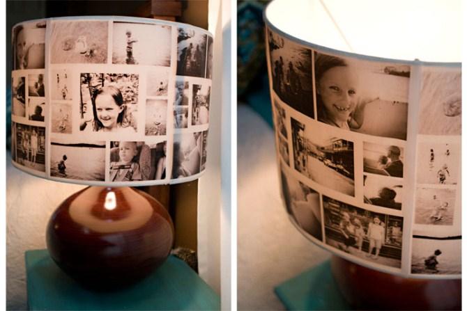 Photo Gifts - Diy Llampshade