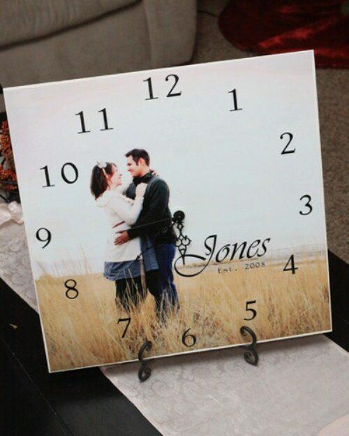 Valentine's Gifts - Photo Clock