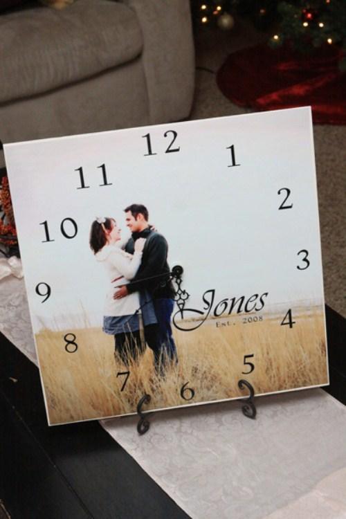 Photo Gifts - Photo Clock