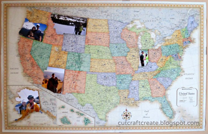 Valentine's Gifts - Photo Personalised Map