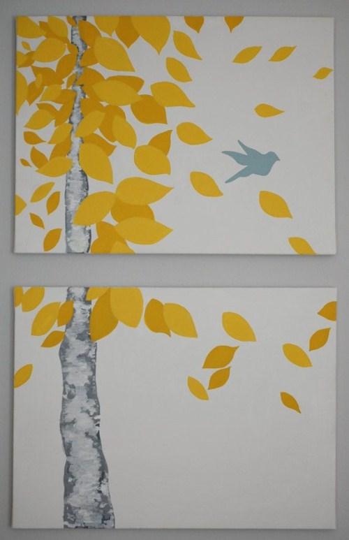 Canvas Art Ideas - Split Canvas