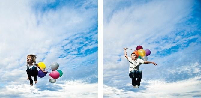 Photography Ideas - Balloons