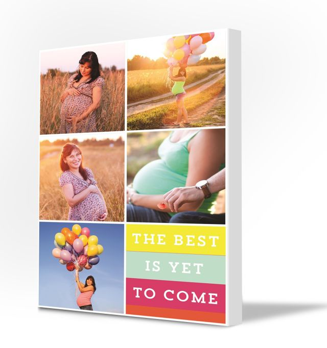 Picture collage – maternity