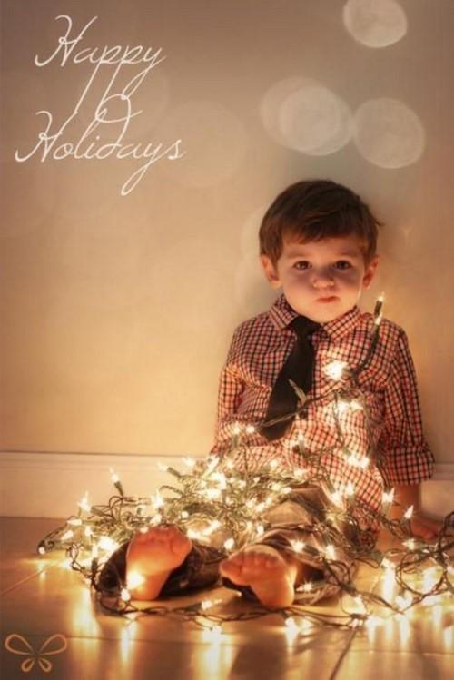 Christmas Photo Ideas - Christmas Lights