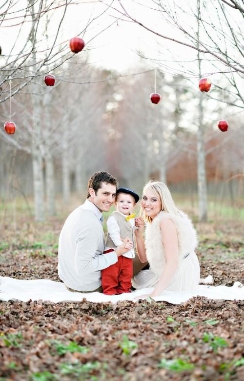 Christmas Photo Ideas - Natural Christmas Tress