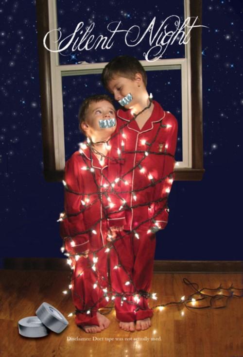 Christmas Photo Ideas - Silent Night