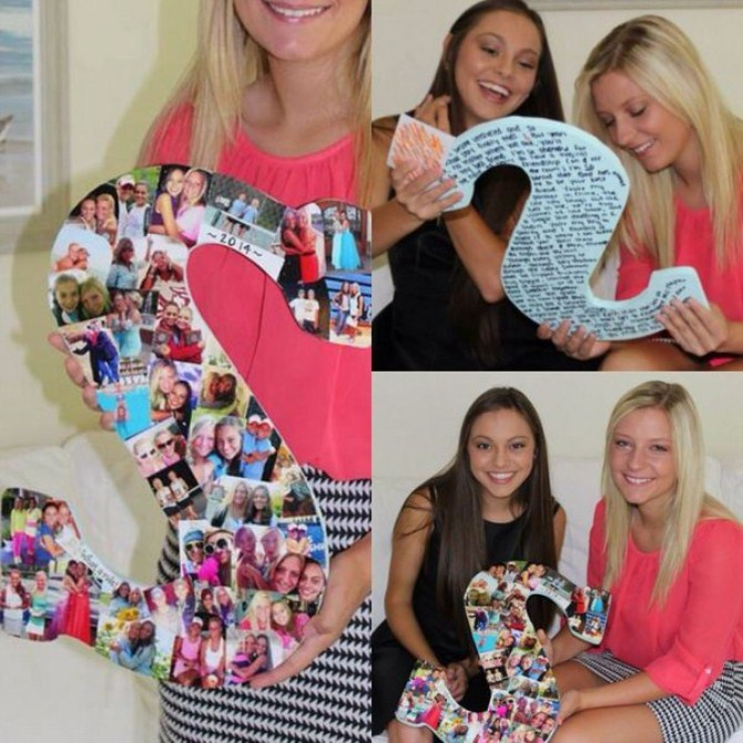 Picture Collage - Letter