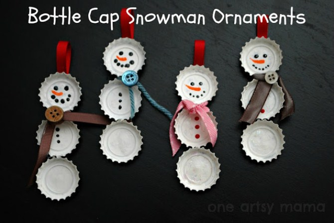 Diy Christmas Decorations - Snowman