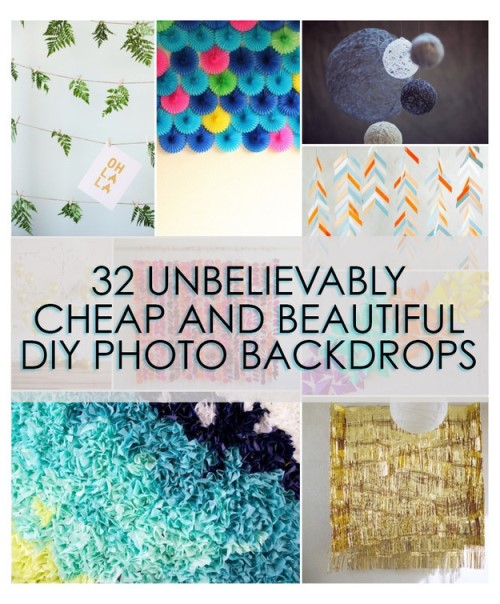 Fun Photography - Create Your Own Backdrops