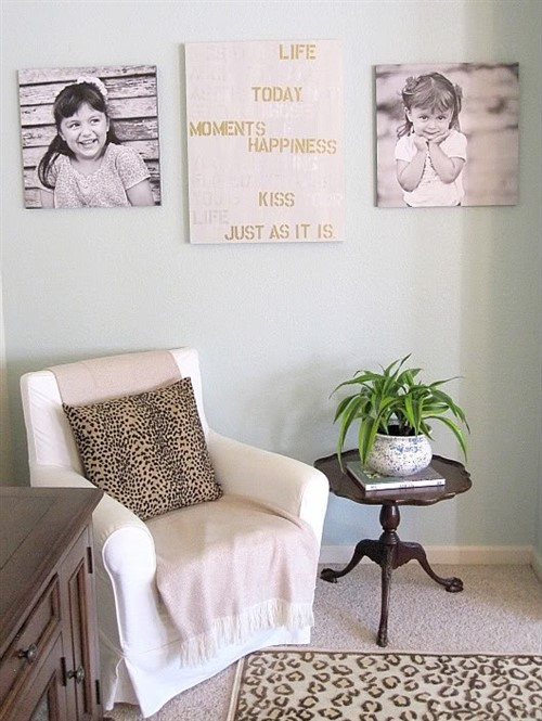 Turn Your Inspirational Quotes Into Canvas Prints - Decorate Home