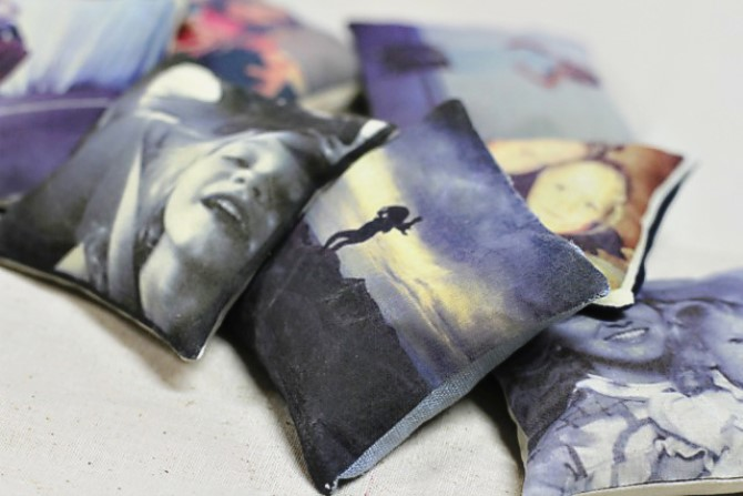 Turn Iphone Photo's Into Art - Pillows With Images