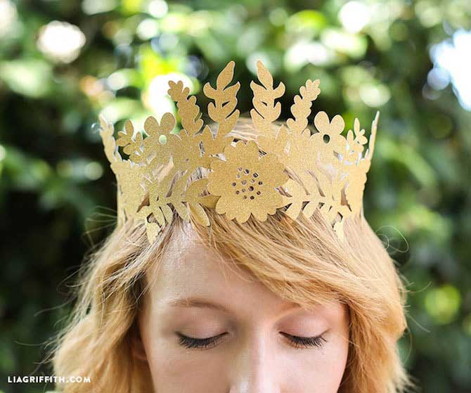 Paper Crafts - Fairy Crown