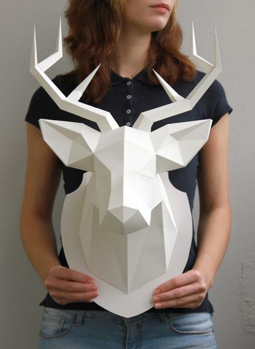 Paper Crafts - Hipster Deer