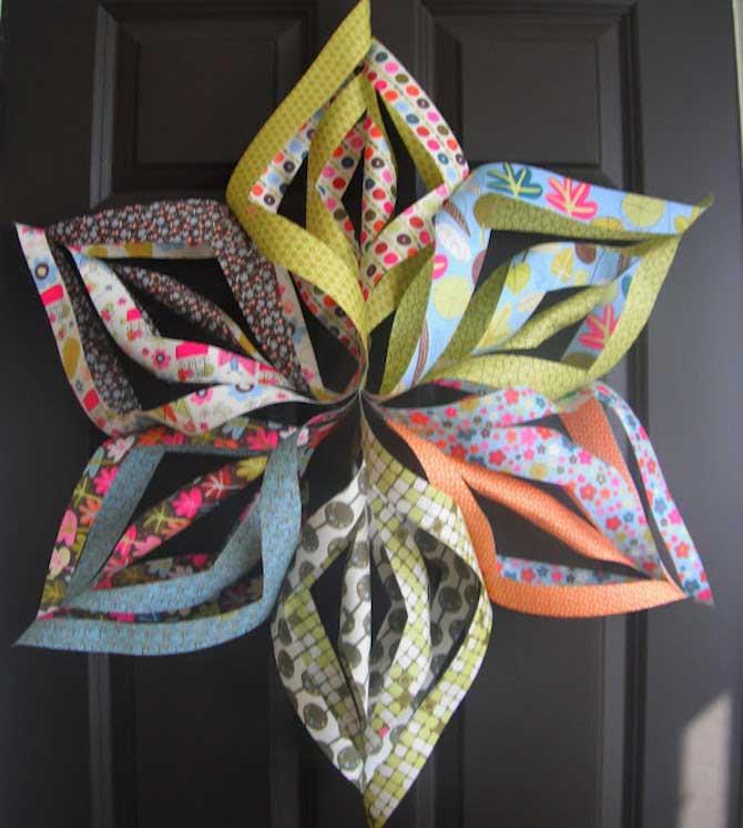 Paper Crafts - Floral Star