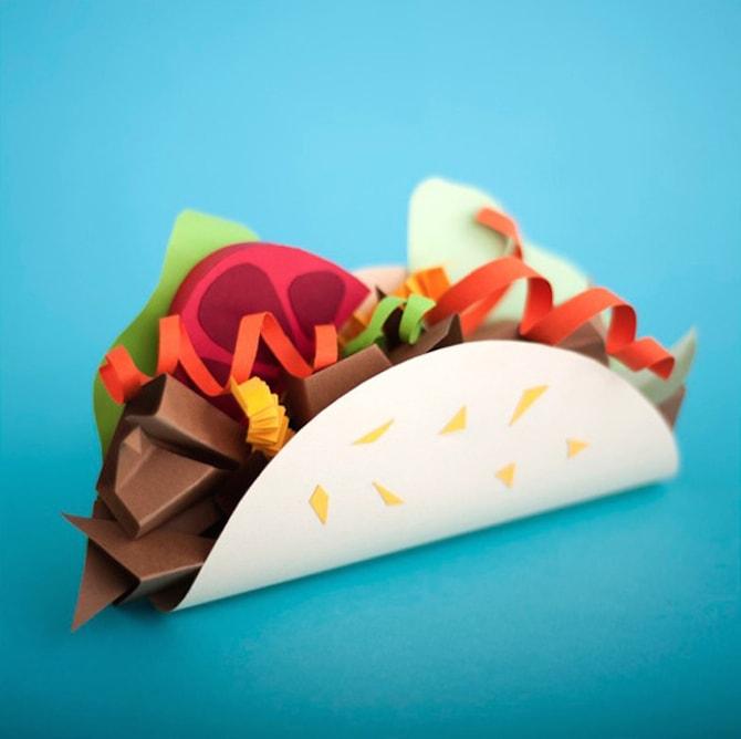 Paper Crafts - Taco
