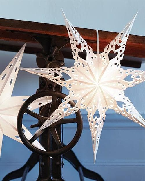 Paper Crafts - White Star