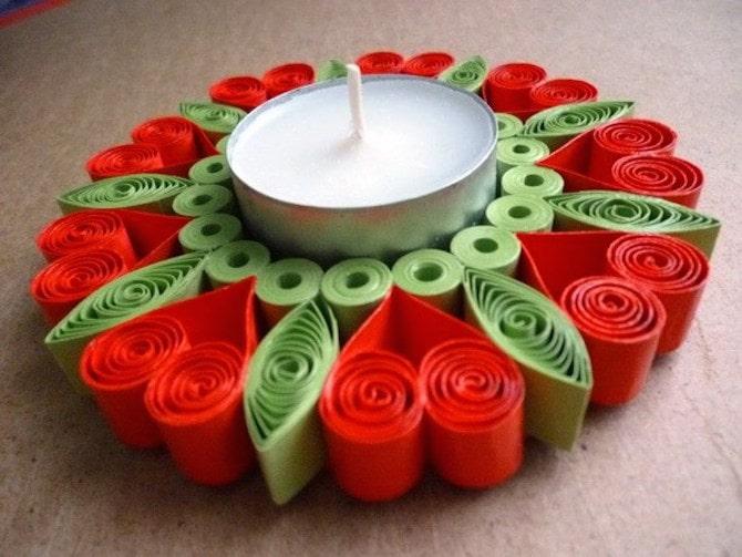 Paper Crafts - Tealight Holder