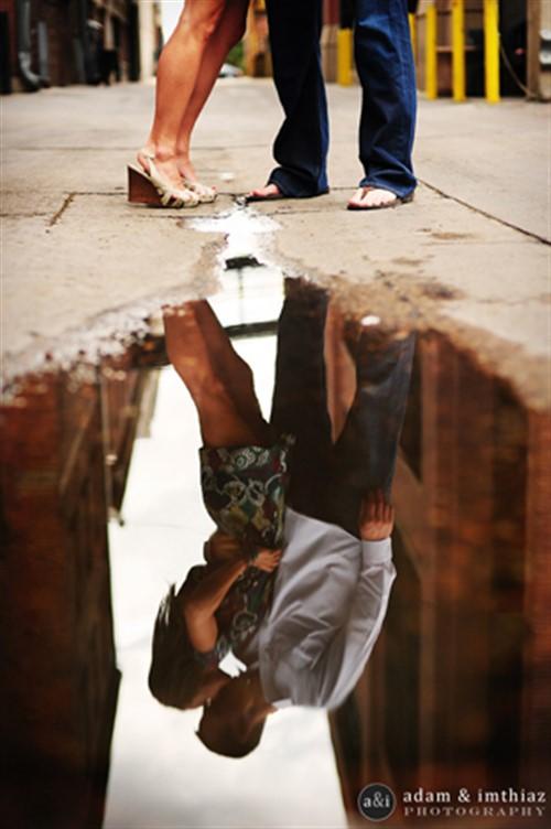 Couple Photos - Romantic - Reflection