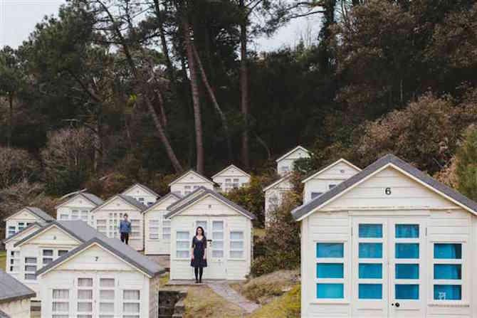 Couple Photos - Funky - Houses