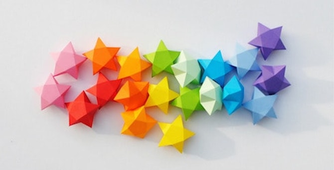 Paper Crafts - Lucky Stars