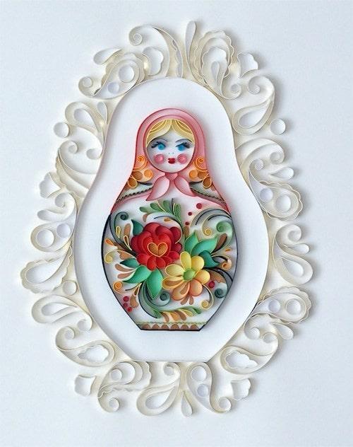 Paper Crafts - Matryoshka