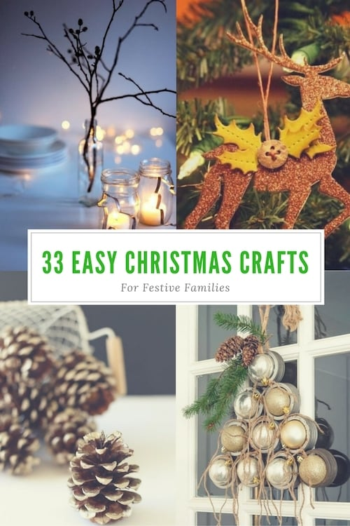 33 Easy Christmas Crafts For Festive Families