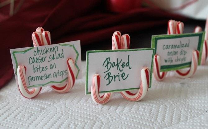 Easy Christmas Crafts - Candy Cane Holders