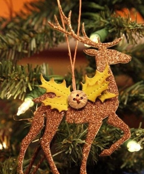 Easy Christmas Crafts - Deer