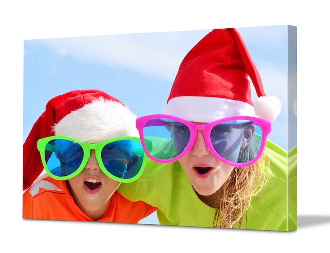 Easy Christmas Crafts - Summer Kids Canvas