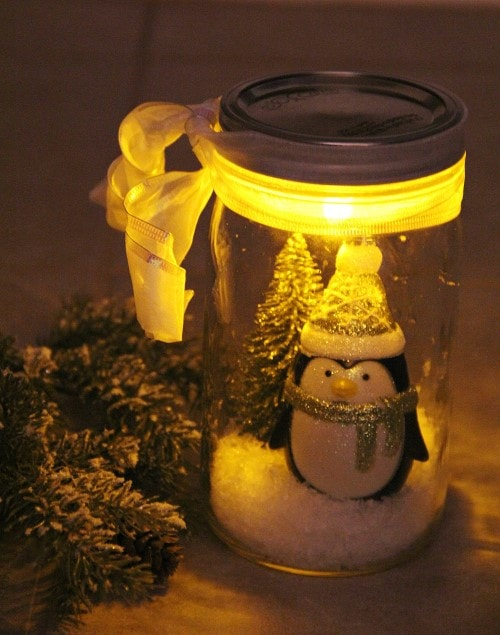Easy Christmas Crafts - Penguin