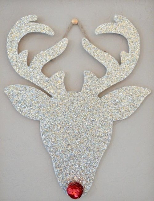 Easy Christmas Crafts - Rudolph